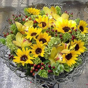 SunflowersOrchids_LisaGreene