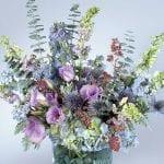tranquil flower arrangement