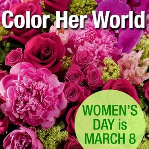 Celebrate Women's Day March 8