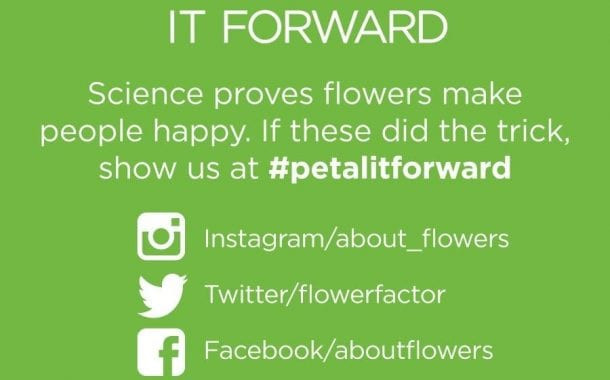 Petal It Forward Prep: Order Flower Cards and T-Shirts