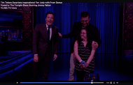 Tim Tebow Gives Corsage to Prom Date on The Tonight Show
