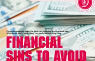 Financial Sins to Avoid