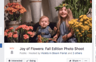 Florida Florist Sets Up Shop for Fall Photo Shoots