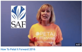 How To Petal It Forward 2016