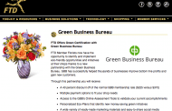 FTD Teams Up with Certifying Agency for Green Effort