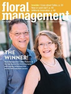 Floral Management Cover October 2015