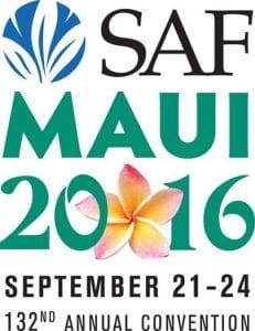 SAF Maui 2016 Logo