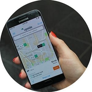 Upside is a free app that helps you and your drivers find the very best deals on gas, by giving you cash back per gallon -- up to 50¢. And as SAF members, you can get an extra 20¢/gallon on your first fill-up -- on top of whatever great deal you find — click here to login and get the special code for your exclusive offer. The app works at 650+ gas stations in the DC-metro area, including all the big brands, so there's no need to go out of your way for the best deal. And the cash can really add up: top Upside users earn $362/year just for buying the gas they needed anyway.