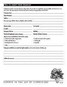 B2B Kit: Company Profile Form