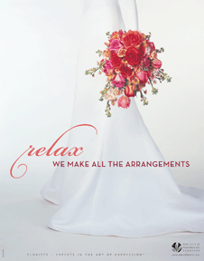 relax - we make all the arrangements ad for wedding business