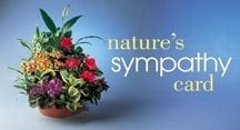 Statement Stuffer: Nature's Sympathy Card