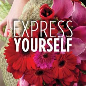 """Promote your customization services with SAF's """"Express Yourself"""" materials."""