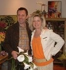 Ian Prosser and Rebecca Cole