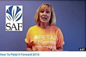 Prepare to Petal It Forward on October 19, 2016
