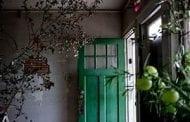 Floral Designer Turns Derelict House into Artwork