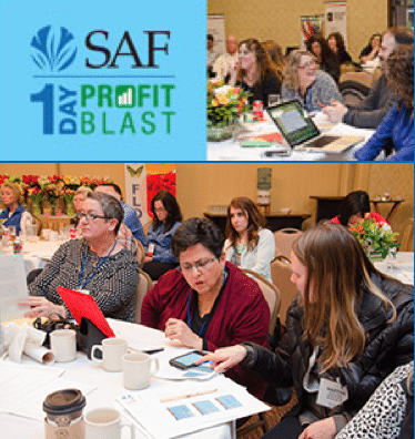 Several shops chose to send multiple employees to SAF's 1-Day Profit Blast in Seattle, so they could collaborate on how to use the information gleaned from the event.