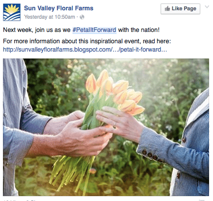 Former Marketer of the Year winner the Sun Valley Group in Arcata, California, is promoting the event online and with a blog post.