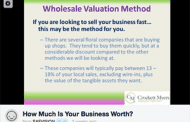 CPA Doles Out Tips on Valuation