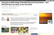 With Valentine's Day Coverage, Positive Approaches Pay Off
