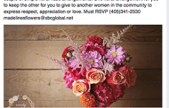 Oklahoma Florist Plans Design Class, Flower Giveaway to Build Awareness for Women's Day