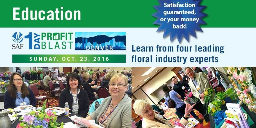 SAF Profit Blast -Sunday, October 23, 2016 Denver Airport Marriott at Gateway Park
