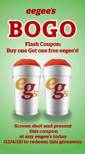 Image of BOGO flash coupon