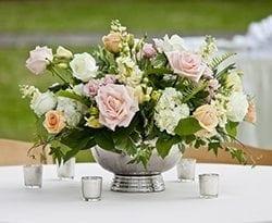 Image of wedding centerpiece