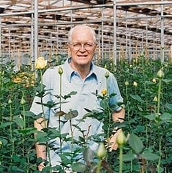 "James ""Jim"" Noodle passed away July 1, 2016. Kennicott Brothers Company and Nordlie Inc. have established the Jim Nordlie Memorial Tribute through the American Floral Endowment (AFE) in his honor."
