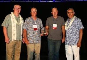 L to R: Dwight Larimer, Ted Dahlson, Tony Dahlson and Gabriel Becerra.