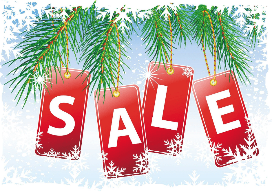 a pre christmas sale organized to run all month helped one shop end december with
