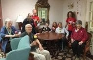 Flowers and SmilesBrightenValentine's Day for Seniors