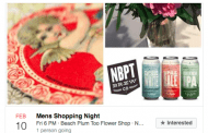Suds, Buds and Sexy Duds to Bring in Fellas for VDay Shopping Night