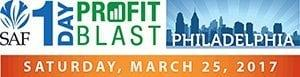 SAF's 1-Day Profit Blast in Philadelphia, sponsored by DVFlora on Saturday, March 25, offers a low registration fee of $139 early-bird for members and $99 for each additional registrant from the same company.