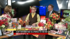 Scott Hepper of Walter Knoll Florist in St. Louis tells the Fox affiliate that personalized Mother's Day flowers make great gifts and shows some arrangements based on favorite TV show mothers.