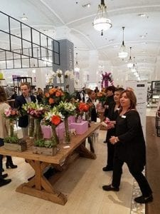 Nyc Florist Pops Up In Lux Retail Store Safnow Org
