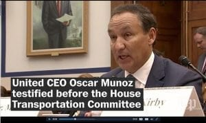 "United Airlines CEO Oscar Munoz was one of several airline executives called to Capitol Hill this week to testify to Congress after a series of PR and customer service-related mishaps that many in the floral industry are calling ""cringe-worthy."""