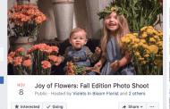 Florida Florist Sets Up Shop for Fall Photo Shoots