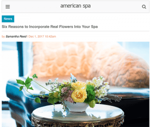 American Spa and Luxe Daily Latest Publications to Promote Flower Benefits to Readers