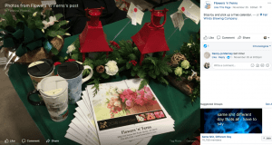 Last month, Flowers 'n' Ferns in Burke, Virginia, was one of several small businesses that set up temporary shop for a Christmas market at Fair Winds Brewing Company in Lorton, Virginia.