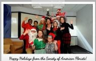 Happy Holidays from the Society of American Florists!