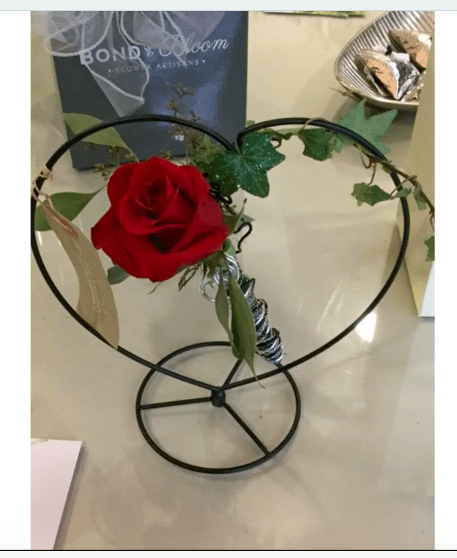 Simple, sophisticated designs help you satisfy a broader demographic of customers for Valentine's Day — and make good use of roses unsuitable for more traditional arrangements.
