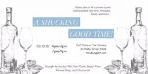 """Beach Plum Flower Shop is one of several businesses participating in """"A Shucking Good Time!"""", a hands-on, oyster-themed event planned for Feb. 10."""