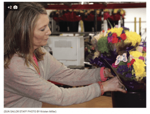 """Mothers have Mother's Day. Lovers have Valentine's Day,"" wrote Kristin Miller in a March 5 story for the Sun Sailor. ""But what about a holiday that celebrates all women, who are doing great things to create a better world? International Women's Day Thursday, March 8, does just that, and Len Busch Roses in Plymouth is preparing bouquets to celebrate this global holiday."""