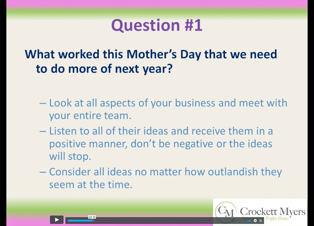 5 Questions to Ask Your Team the Week After Mother's Day