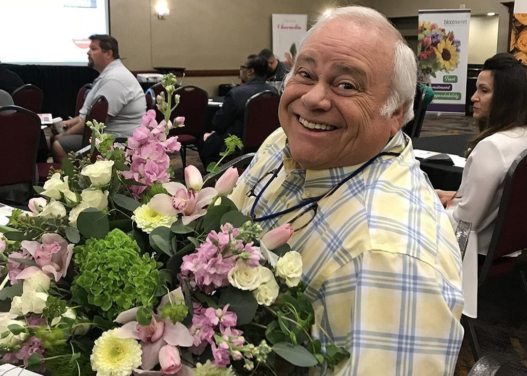 ohn Adamo, Conner Park Florist, St. Claire Shores, Mich.