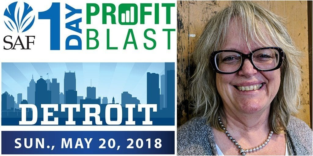 Rakini Chinery, AAF, AzMF, will share tips on digital marketing May 20 during the Society of American Florists' 1-Day Profit Blast in Detroit. Register by May 4 and tickets are just $139 for members and $189 for non-members.