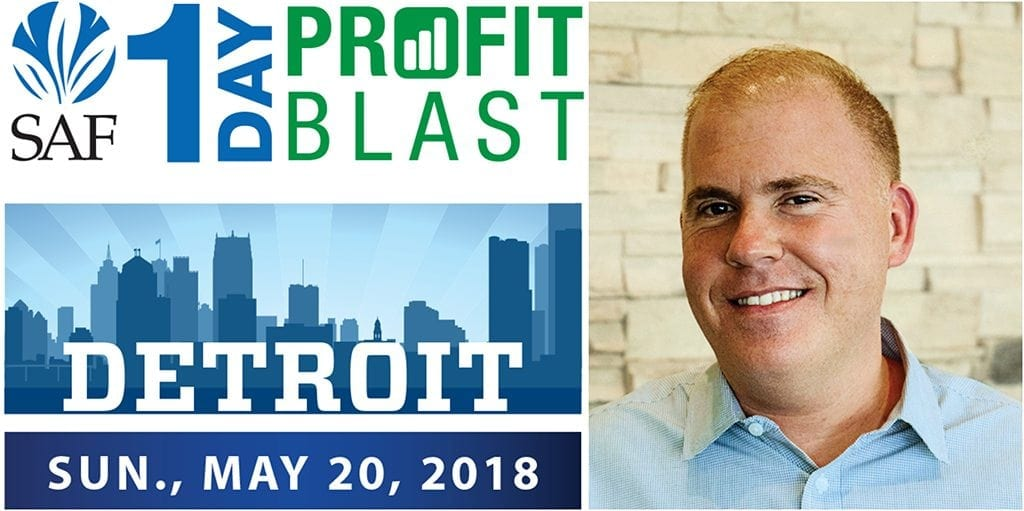 Tim Huckabee will detail the processes that will improve your shop's customer satisfaction on May 20 during the Society of American Florists' 1-Day Profit Blast in Detroit. Register by May 16 and tickets are just $139 for members and $189 for non-members.