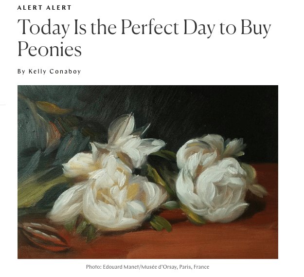 Writer Pens Ode To Peonies