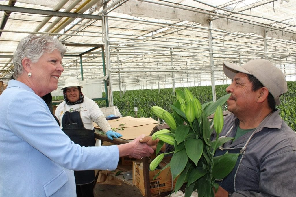 Congresswoman Visits SAF Member Grower