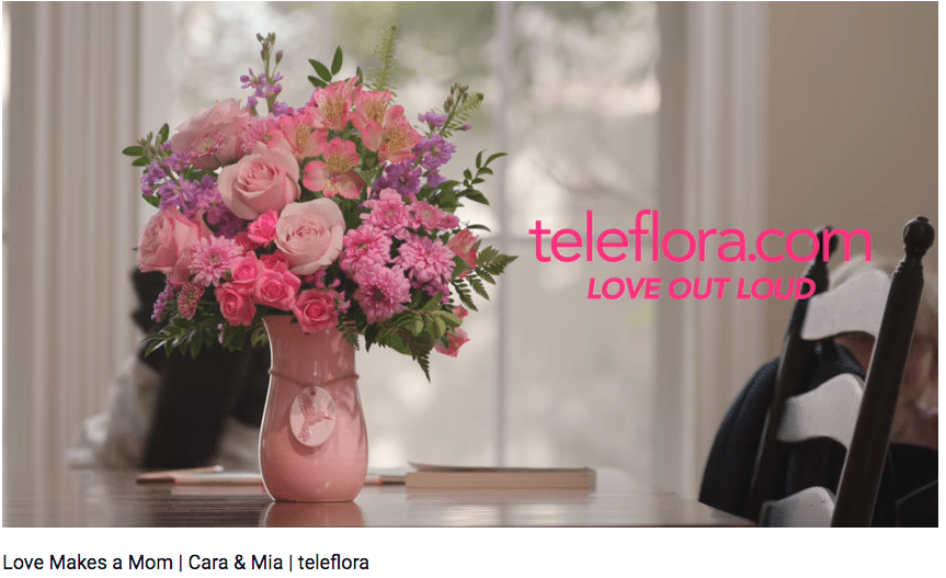 Teleflora S Holiday Campaign Aims For Realistic Portrayal Of